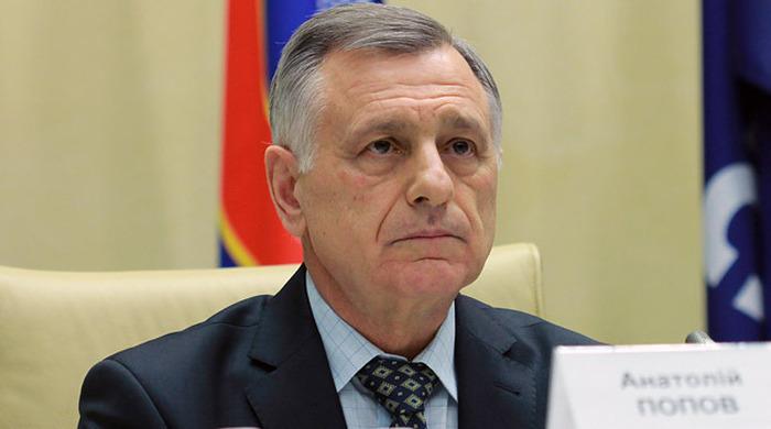 Попов предлагает провести аудит своей деятельности в ФФУ (+ фото)