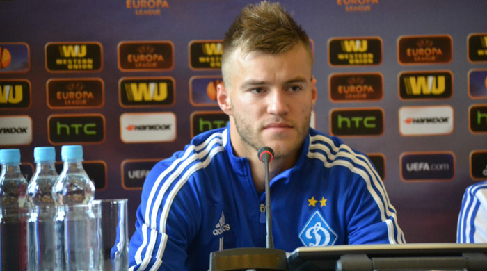 """Андрей Ярмоленко: """"Лично я хотел, чтобы первая весенняя игра была с """"Шахтером"""""""