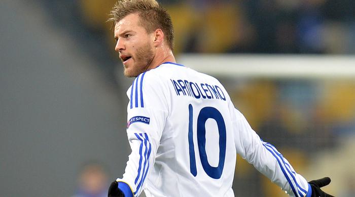 Капитаны клубов Премьер-лиги назвали Ярмоленко лучшим игроком 2013 года