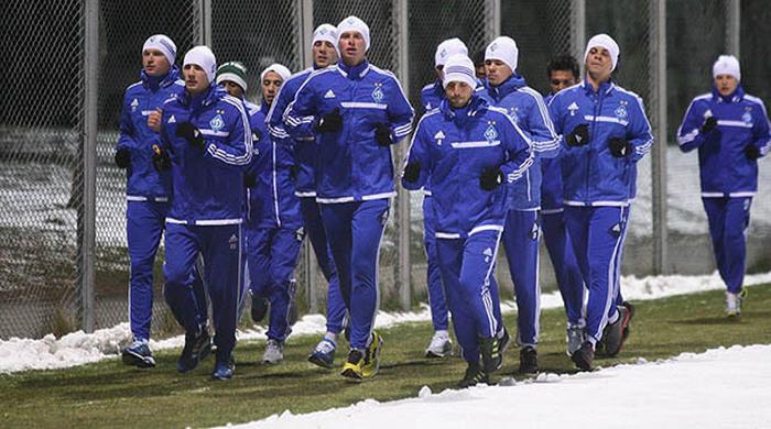 Динамовцы приступили к тренировкам: травмированных в команде нет