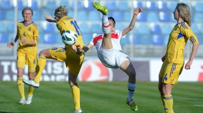 Жіноча збірна України в кваліфікації до ЧС-2015 перемогла збірну Туреччини