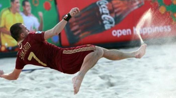 Пляжный футбол. Украинский клуб стал вице-чемпионом Европы