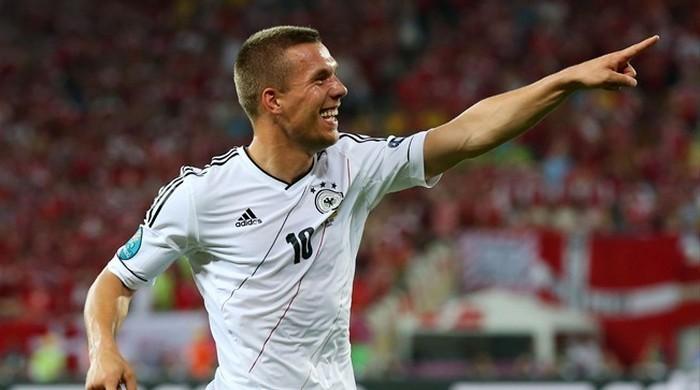 Лукаш Подольски вышел на третье место в списке гвардейцев сборной Германии