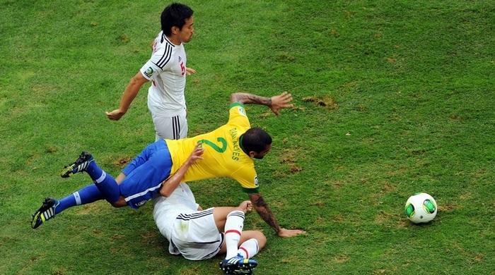 Кубок Конфедераций. Бразилия - Япония 3:0. Японцам - Жо!