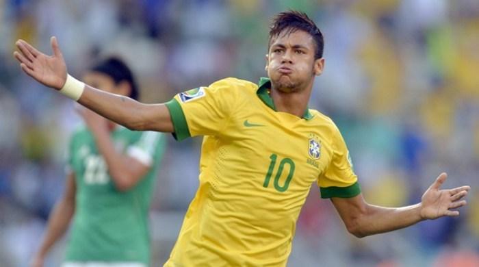 Кубок Конфедераций. Бразилия - Мексика 2:0. Корона не упадет