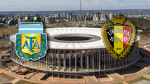 Аргентина - Бельгия 1:0. Видео