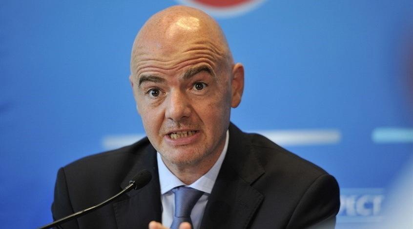 """Джанни Инфантино: """"Игроки, которые будут выступать в Суперлиге, должны забыть о чемпионатах мира и Европы"""""""