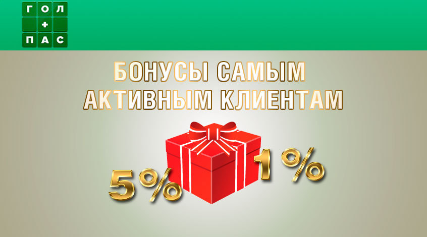 Бонусы активным игрокам