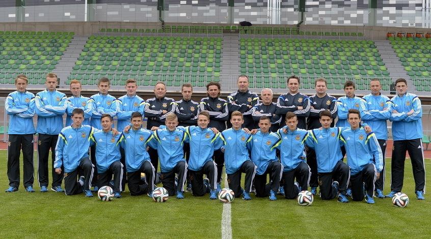 Сборная Украины (U-17) заняла восьмое место на турнире в Беларусии