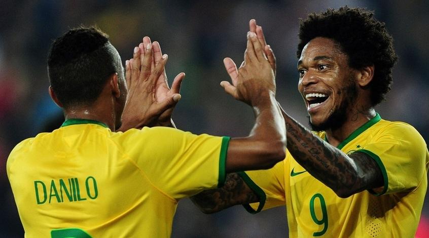 """Луис Адриано: """"Счастлив снова оказаться в сборной Бразилии"""""""