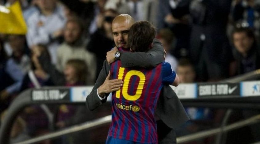 """Хосеп Гвардиола: """"Я никогда не просил руководство клуба купить Месси"""""""