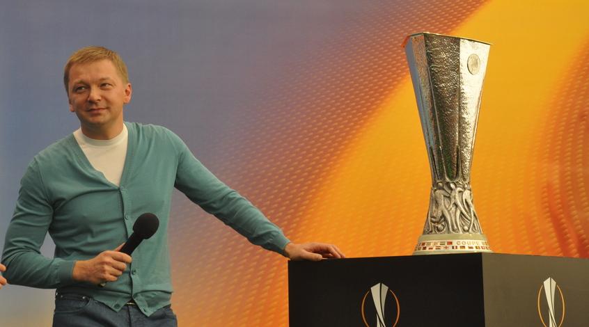 Сергей Палкин поздравил болельщиков с наступающим Новым годом