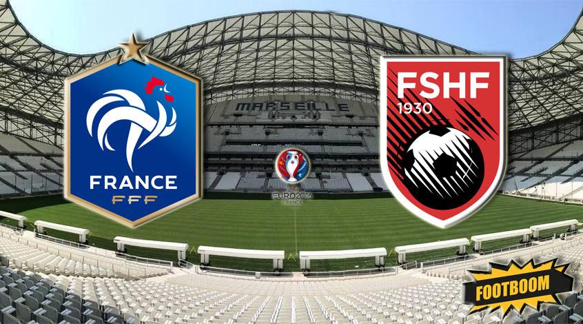 Франция – Албания 2:0. В следующий раз несите сразу десерт!