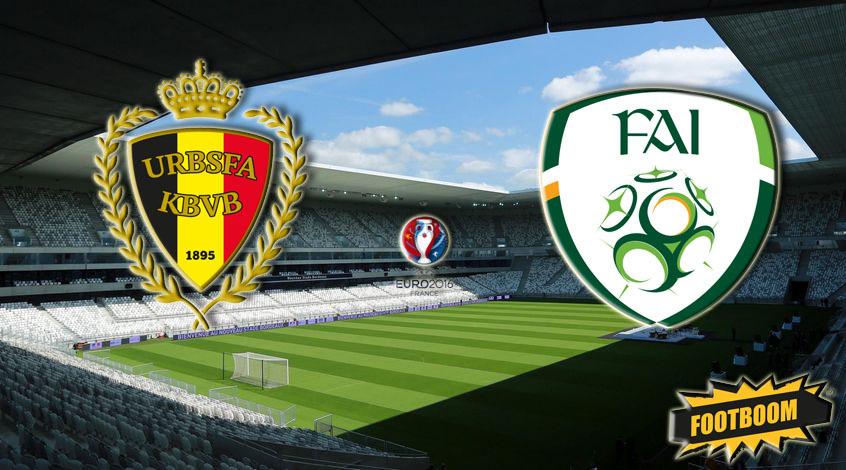 Бельгия - Ирландия 3:0. По испанскому пути