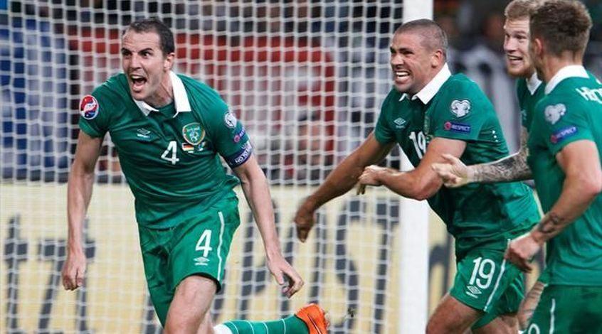 Ирландия - Швеция 1:1. Два разных тайма
