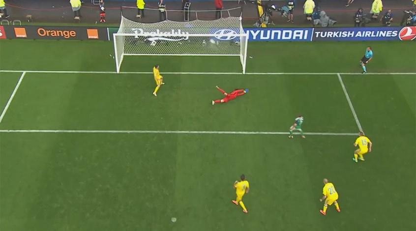Украина - Северная Ирландия 0:2. Слишком британская погода
