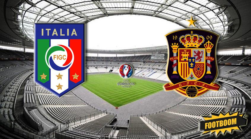 Италия - Испания 2:0. КОНТЕц испанской эпохи