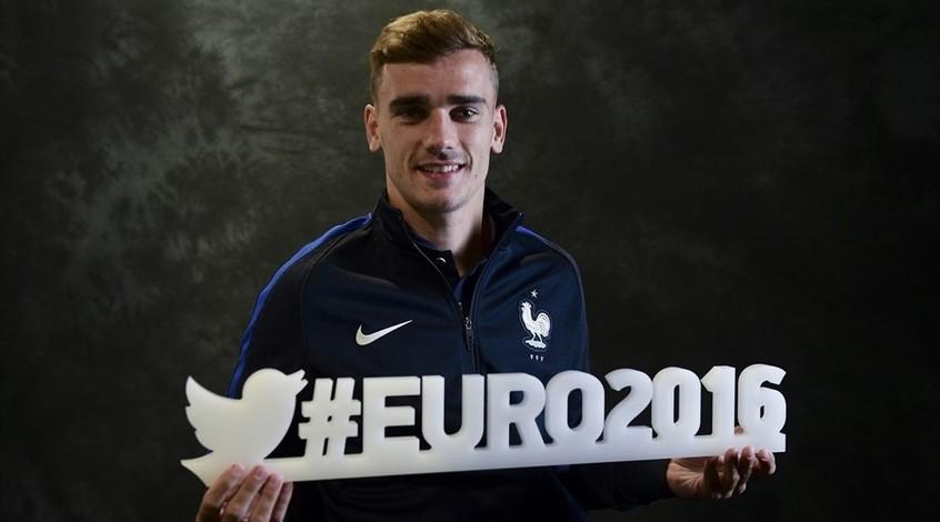 Антуан Гризманн - лучший игрок Евро-2016