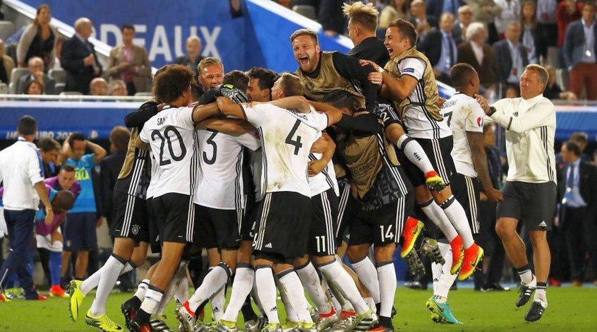 Германия - Италия 1:1, по пенальти - 6:5. Гектор, храбрейший вождь