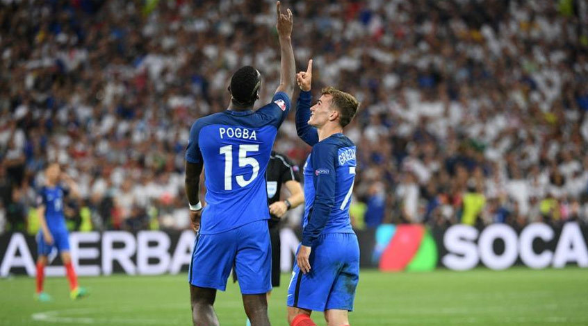 Германия - Франция 0:2. Уходите к себе за Рейн