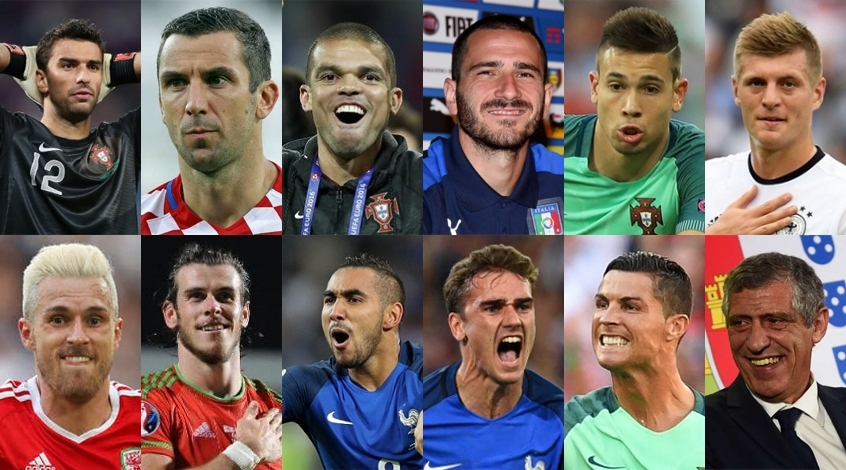 Евро-2016: символическая сборная по версии FootBoom
