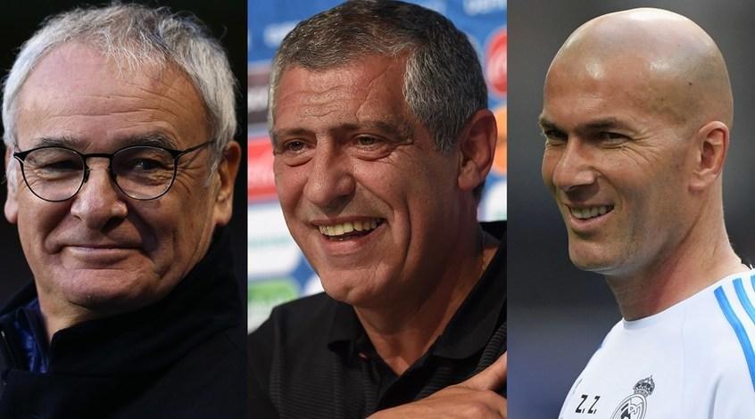 Раньери, Сантуш и Зидан - кандидаты на звание лучшего тренера по версии ФИФА