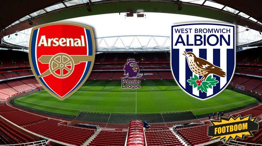 Арсенал лондон вест бромвич альбион смотреть онлайн