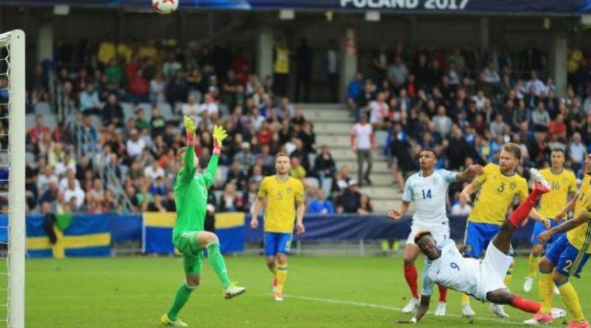 Швеция (U-21) – Англия (U-21) 0:0. Пикфордов шнур