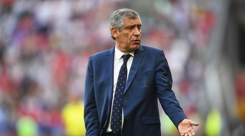 Фернанду Сантуш объяснил, почему Роналду не попал в заявку Португалии