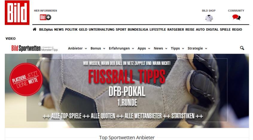 """""""Айнтрахт"""" - """"Бавария"""": прогноз Bild Sportwetten"""