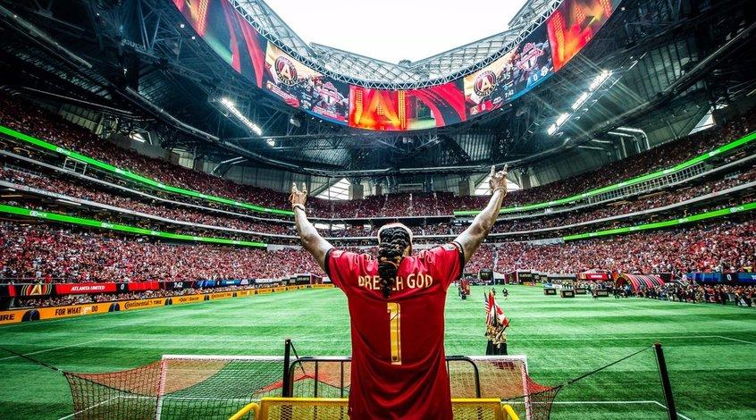 """Матч """"Атланта Юнайтед"""" — """"Лос-Анджелес Гэлакси"""" стал самым посещаемым в истории MLS"""