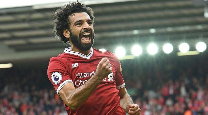 Мохамед Салах стал лучшим игроком недели в Лиге чемпионов