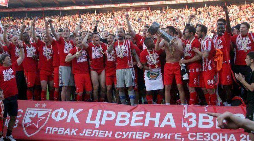 """""""Црвена Звезда"""" в рекордный 28-й раз стала чемпионом страны"""
