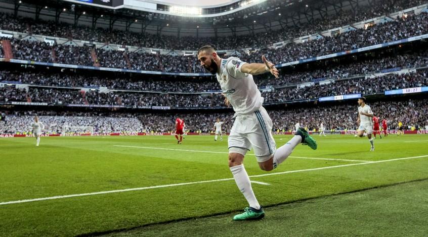 """Карим Бензема стал седьмым игроком в истории """"Реала"""", который достиг отметки в 200 голов"""