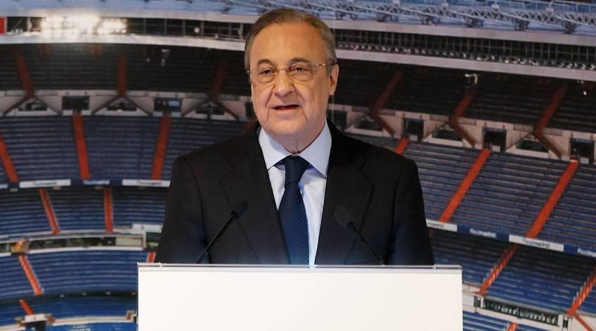 """Флорентино Перес: """"Пришло время перемен, и """"Реал"""" всегда был на передовой"""""""