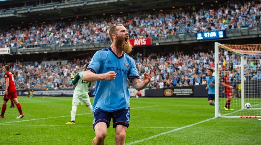 """MLS. 19-я игровая неделя. """"Бородатая"""" победа """"Нью-Йорк Сити"""" над """"Торонто"""""""