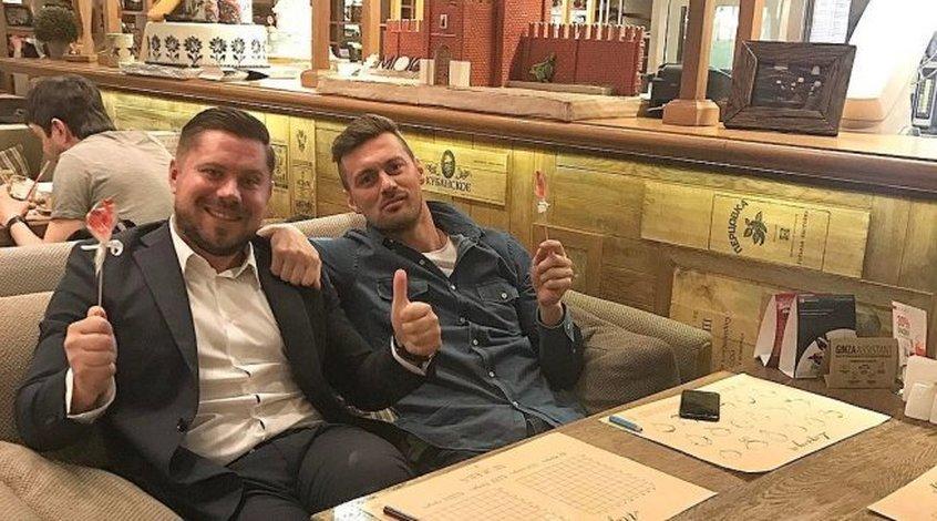 """Артем Милевский поздравил Игоря Суркиса: """"Наверное, нужно проставиться в казино"""""""