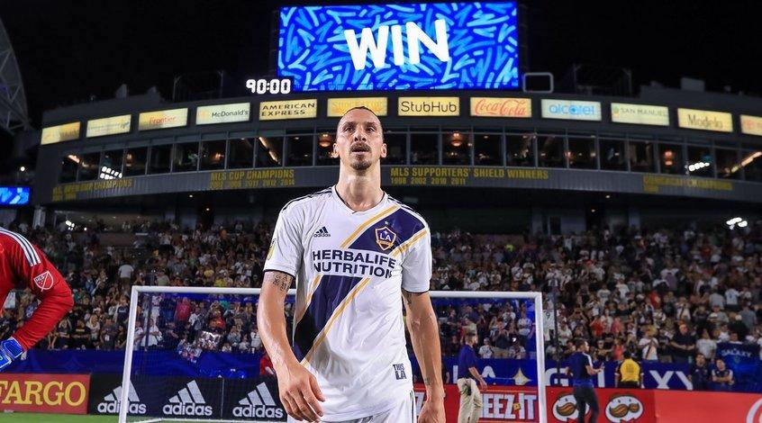 """Златан Ибрагимович: """"Если я уйду, никто и не вспомнит, что такое MLS"""""""