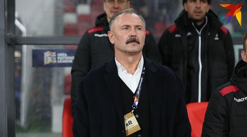 Тренер сборной Беларуси во время интервью рассказал стих Тараса Шевченко