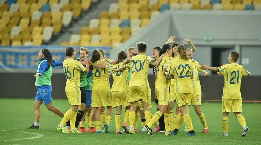 Рейтинг УЄФА для жіночих збірних: Україна повернулася на 17-й рядок