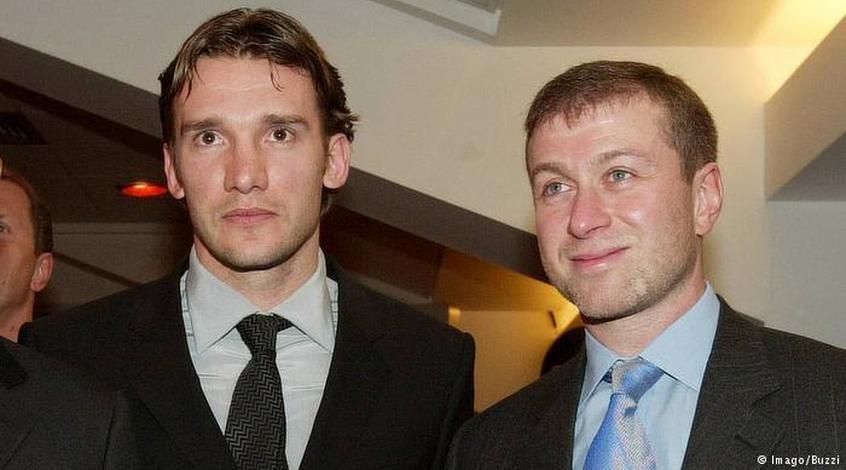 Андрій Шевченко і золото Абрамовича (+Фото)