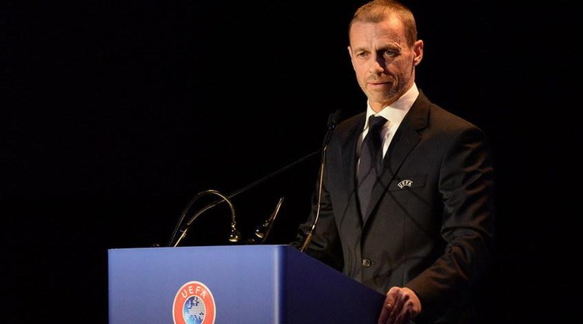 """Александер Чеферин: """"Цель УЕФА - доиграть национальные чемпионаты, остальное - неправда"""""""