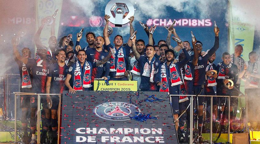 ПСЖ в девятый раз в истории стал чемпионом Франции - Лига 1 официально завершила турнир