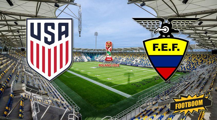 ЧМ-2019 (U-20). США - Эквадор. Анонс и прогноз матча