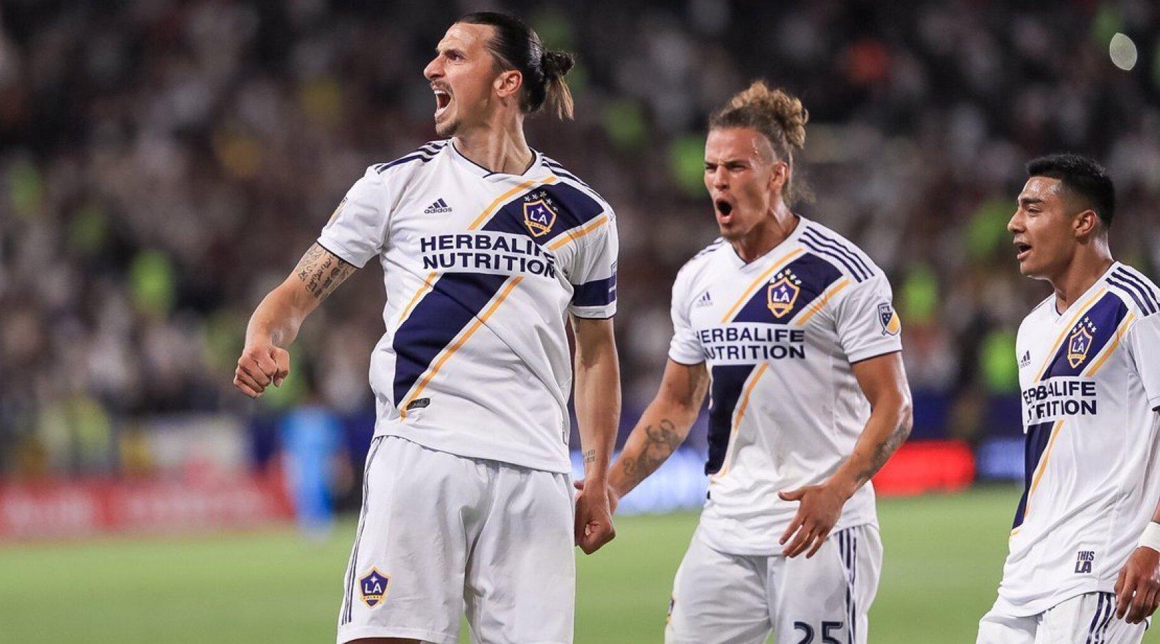 MLS: cимволическая сборная 20-го тура, Златан Ибрагимович - лучший игрок (+Фото)