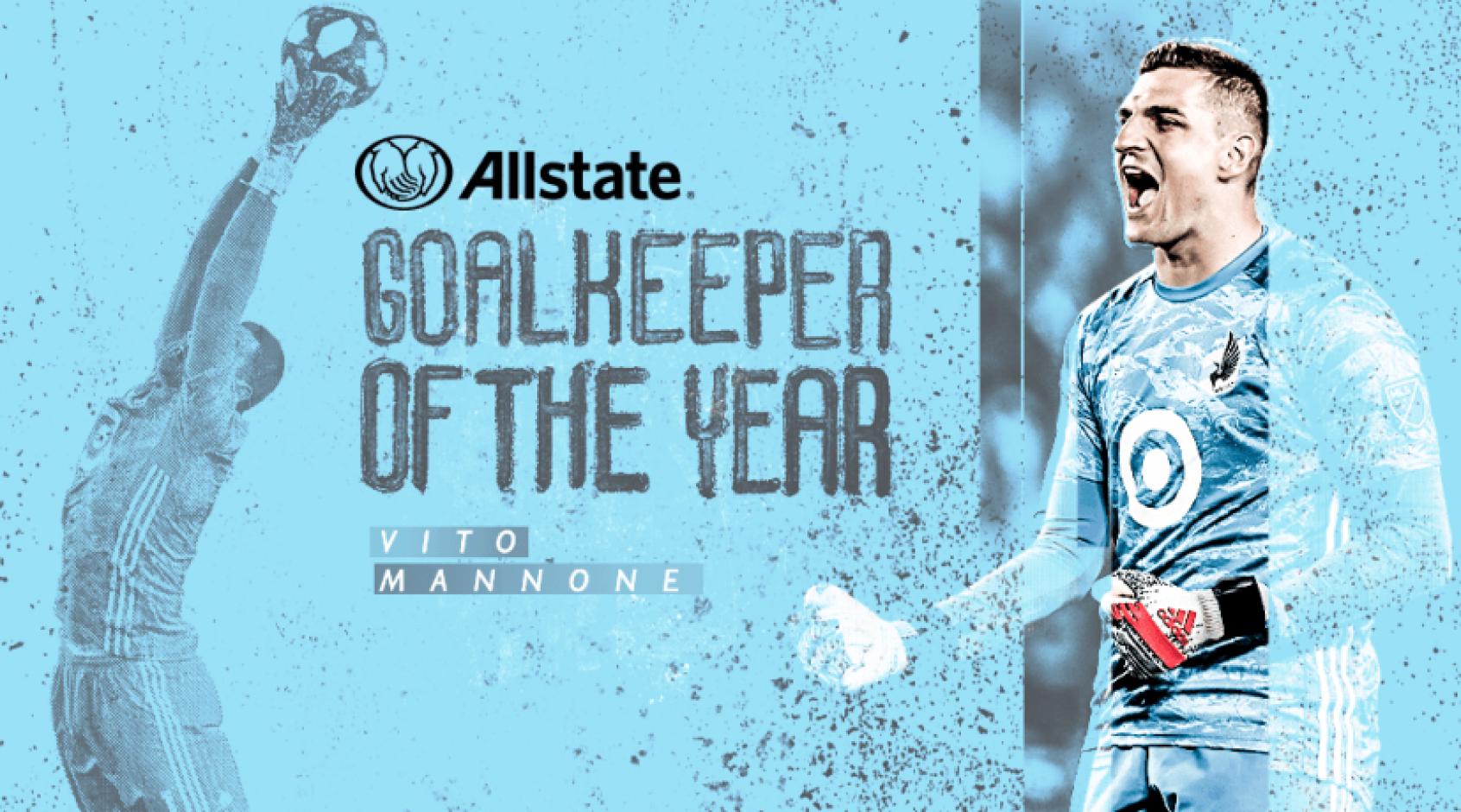 Вито Манноне - лучший вратарь сезона MLS