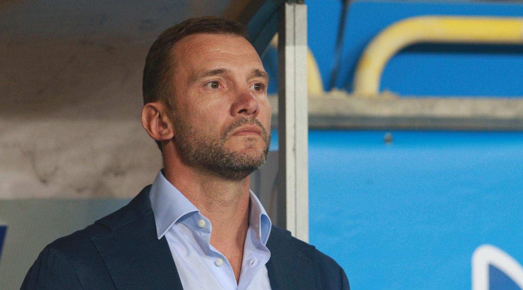 Украина - Эстония: послематчевая пресс-конференция Андрея Шевченко