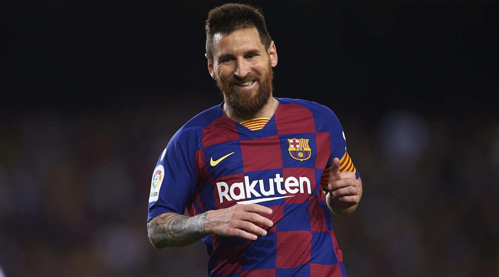 """Лионель Месси показал, как тренируется на базе """"Барселоны"""""""