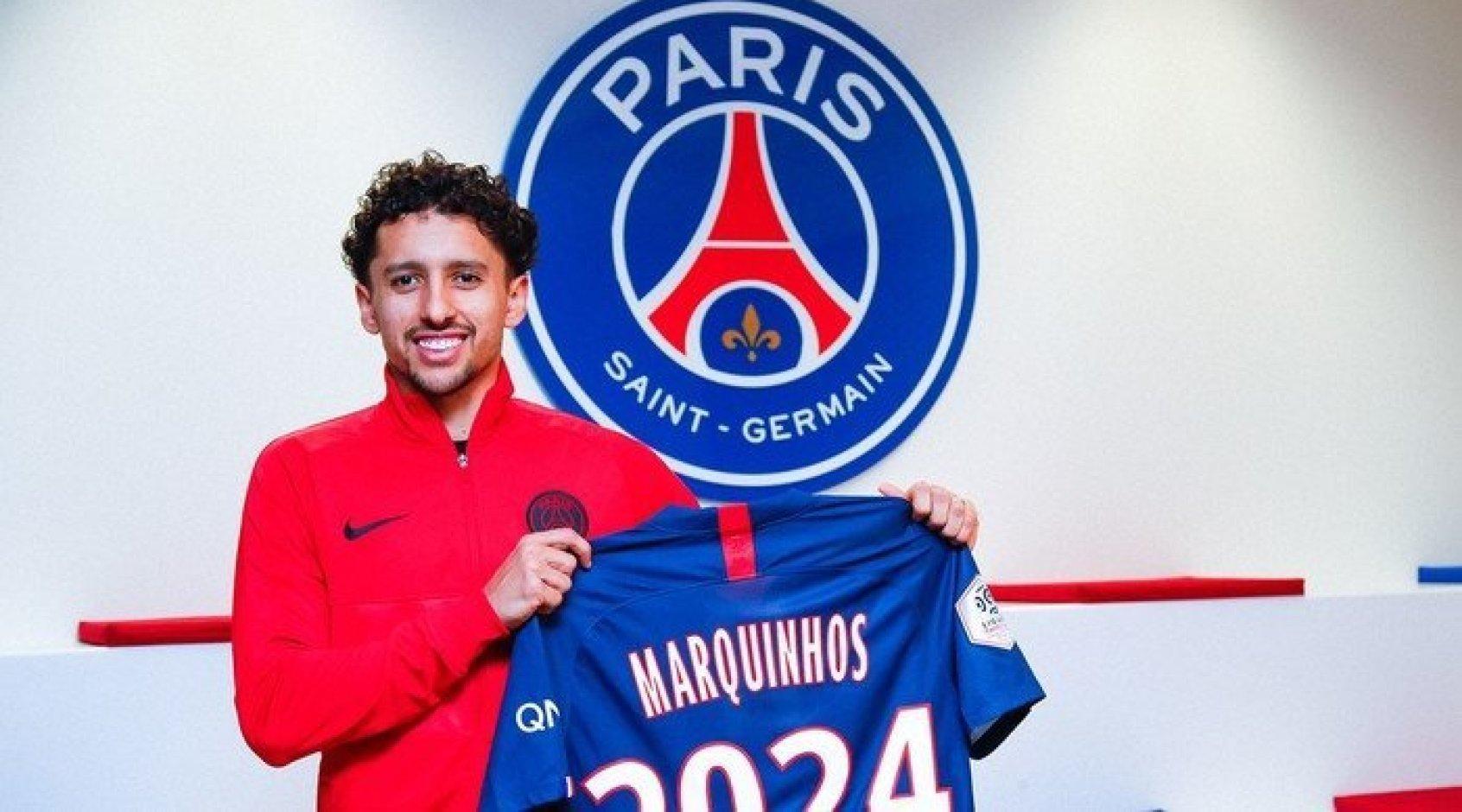 Официально: Маркиньос продлил контракт с ПСЖ
