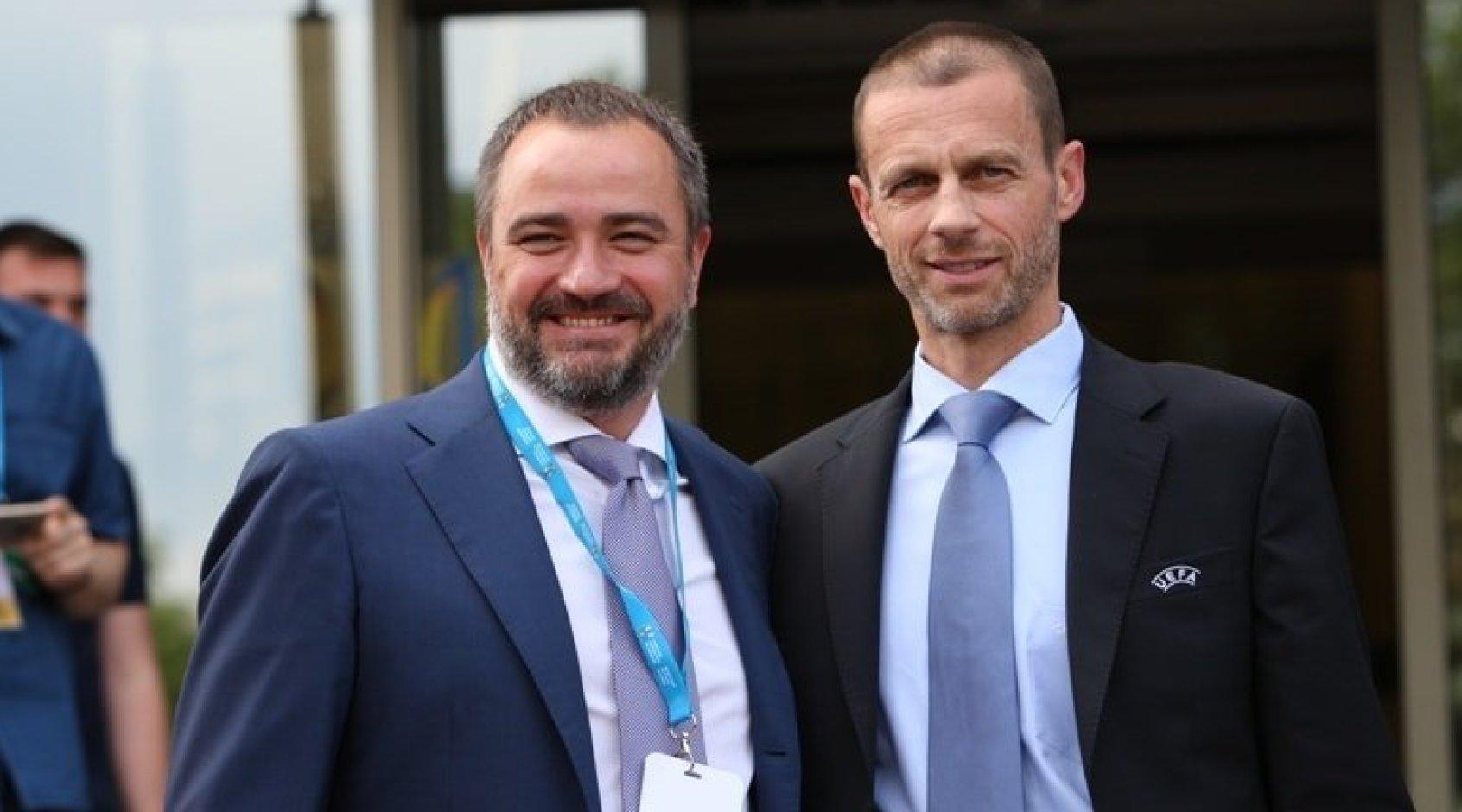 Річниця обрання Андрія Павелка до Виконавчого комітету УЄФА: VAR, структура Ліги націй, нова система відбору ЧС-2022